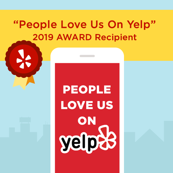 People like us on Yelp sticker