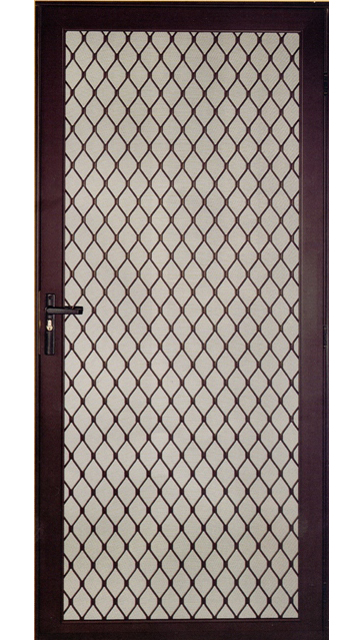Aluminum Security Screen Door