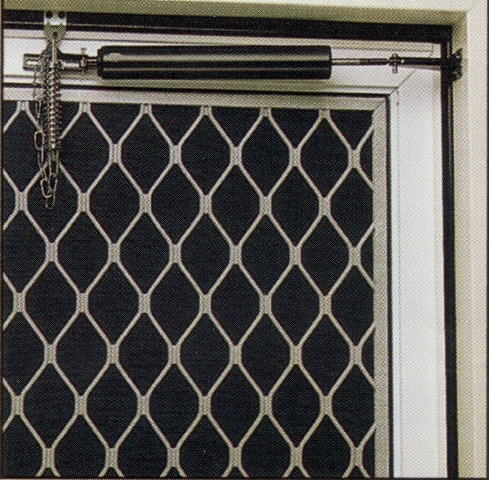 Aluminum Security Screen Door able glass--complete glass, window, & screen service