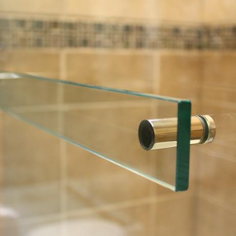 glass towel bar